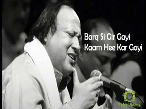 Lyrics Mere Rashke Qamar By Nusrat Fateh Ali Khan Official (Complete)