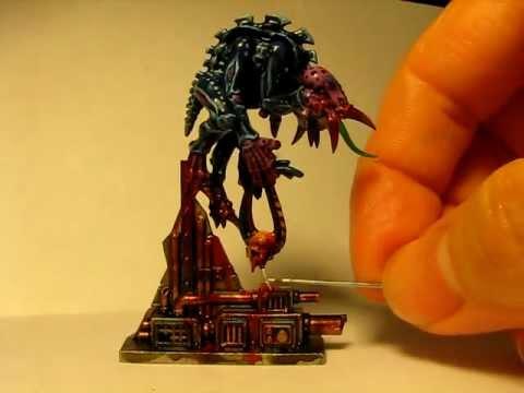 SPACE HULK: Adding Goo, Slime, Gore to Miniatures Part 1