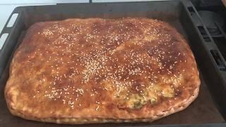 Пирог с капустой Простой рецепт  пирога со свежей капустой Очень вкусный капустный пирог Cabbage Pie