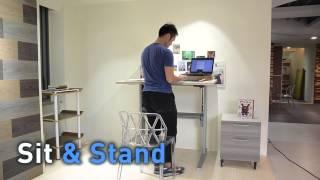 Singapore Standing Desk / Ergonomic Workstation