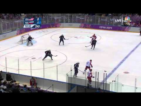 USA vs Russia Olympics 2014 Ice hockey FULL