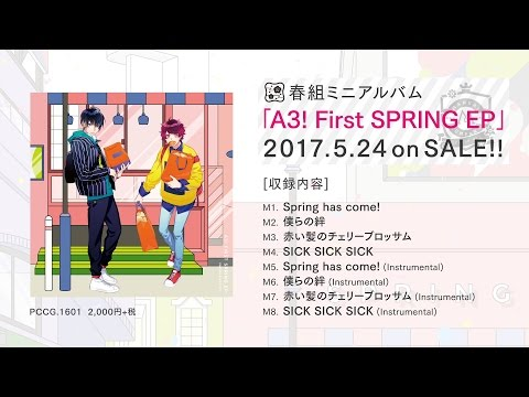 【A3!】A3! First SPRING EP 試聴動画