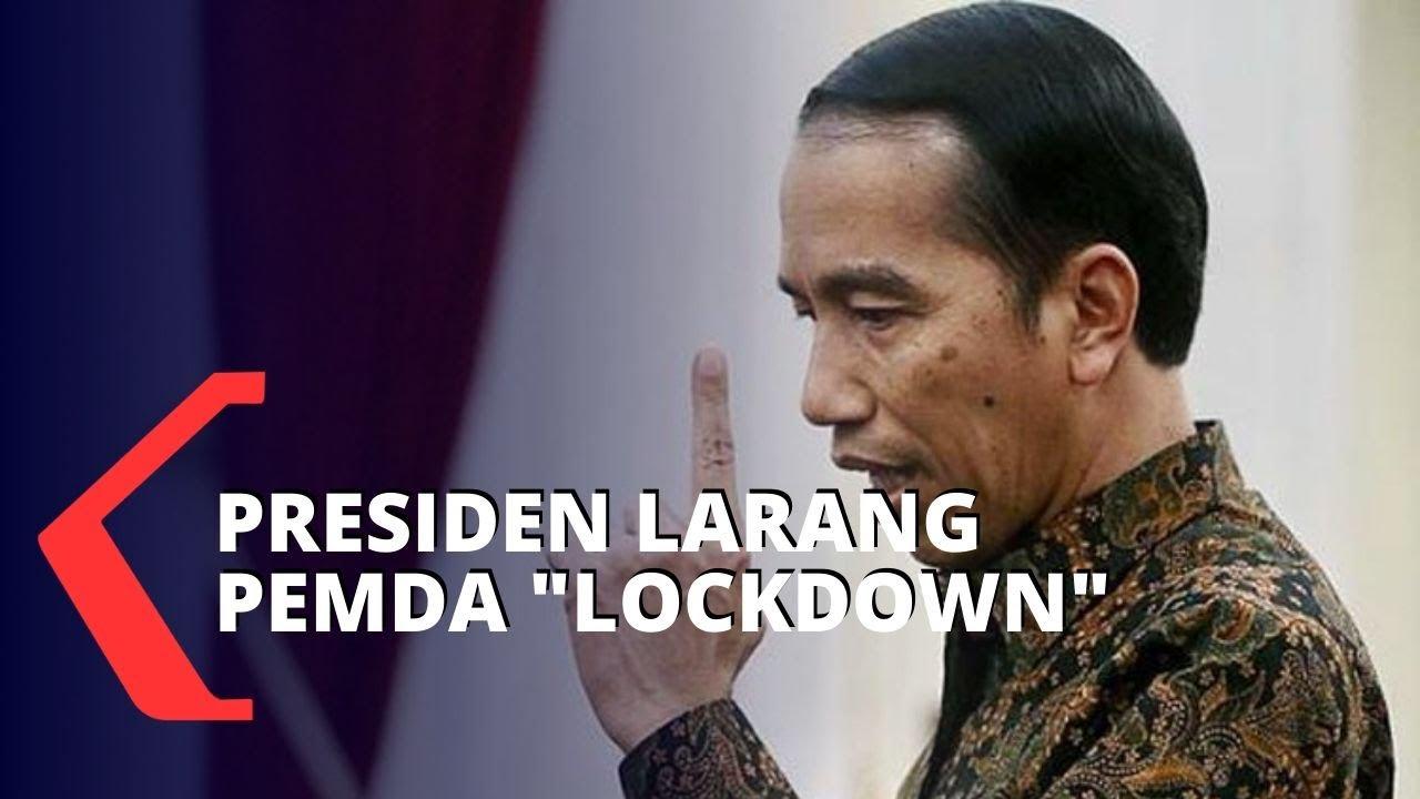Presiden Larang Pemda Lakukan Lockdown - KOMPASTV