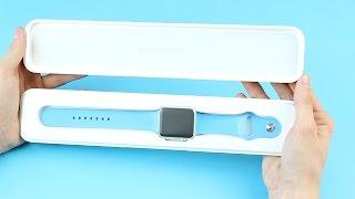 Apple Watch : Déballage et première prise en main