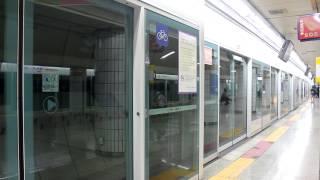 [FHD]ソウル 5号線 靑丘駅 上一洞行 5000系 到着