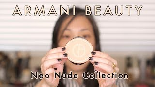 ARMANI BEAUTY Neo Nude Collection
