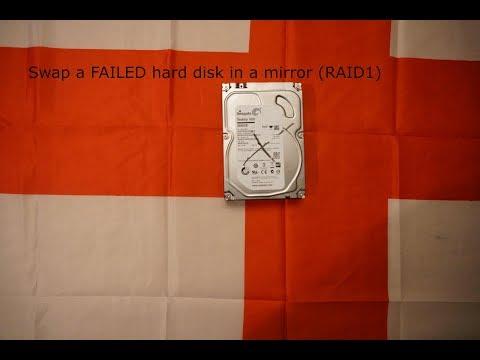 018 Failed Intel Raid 1 HDD Swap