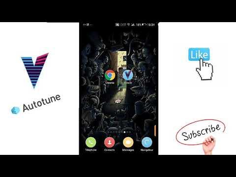 Voloco (hacker) application Android pour changer la voix et chanté comme les chanteurs professionnel