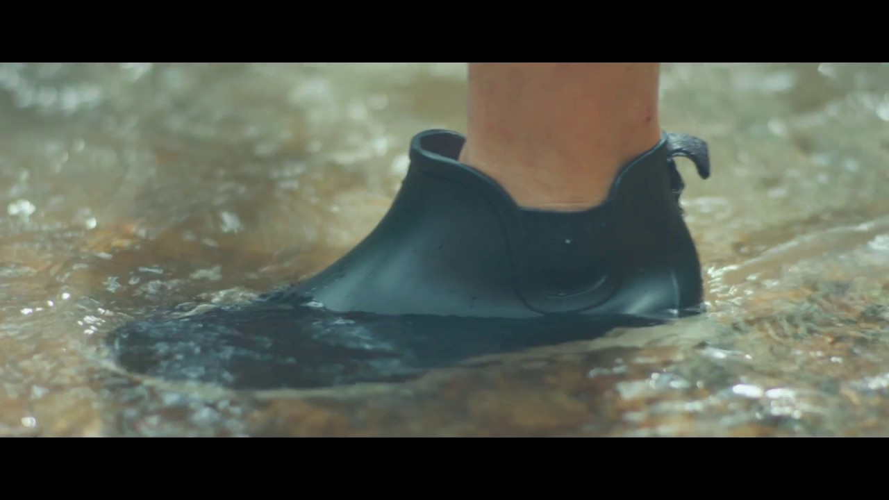 men fashion rain boots, waterproof shoes for outdoor