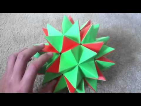 how to make ball with paper dailymotion