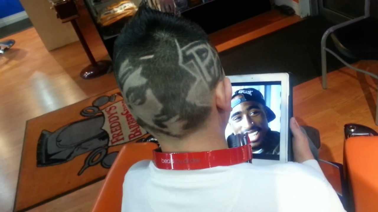 Tupac Hair Design Youtube