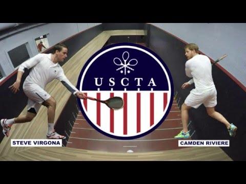 2016 U.S Open Final - Camden Riviere vs. Steve Virgona