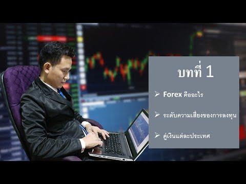 บทที่ 1 Forex คืออะไร ระดับความเสี่ยงของการลงทุนและอักษรย่อของคู่เงินแต่ละคู่