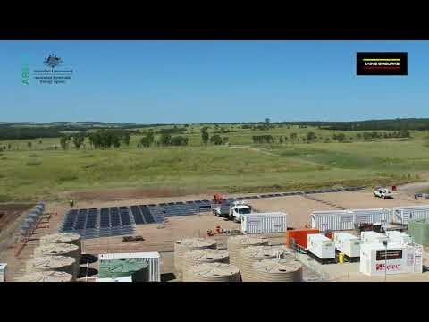 SunSHIFT - Solar diesel plant time lapse