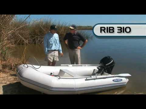 West Marine Compact Rib 310 Inflatable Boat Youtube