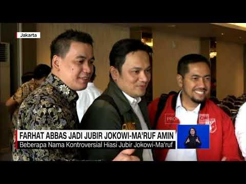 Farhat Abbas Jadi Jubir Jokowi-Ma'ruf Amin