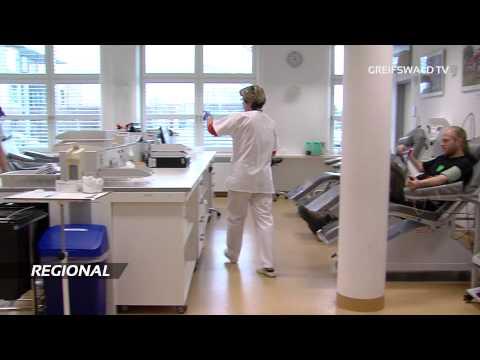 Plasmaspenden am Uni-Klinikum