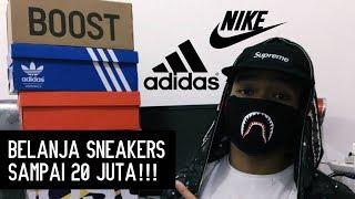 BELANJA SNEAKERS SAMPAI 20 JUTA!!! - Europe Sneaker Haul