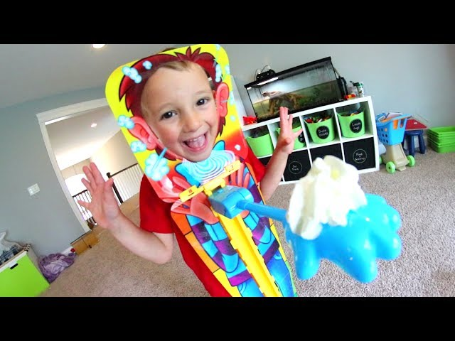 Father Son Play Pie Face Sky High Youtube
