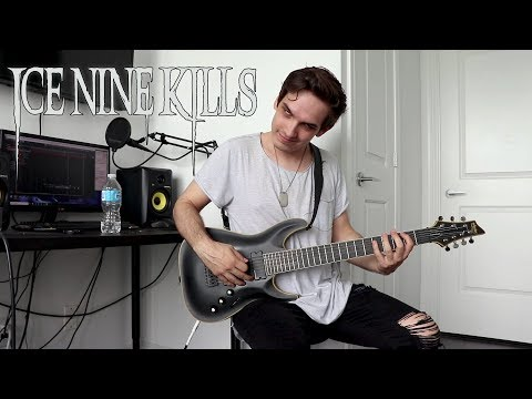 Ice Nine Kills | The American Nightmare | GUITAR COVER (NEW SONG 2018)