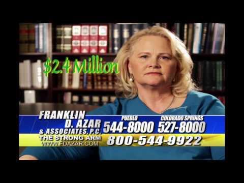 Colorado Springs Accident Lawyer - Frank Azar $2.4 Million Settlement