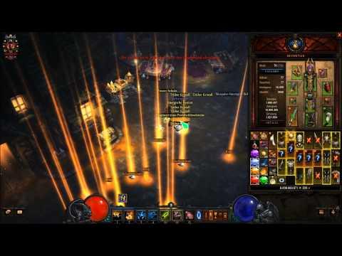 Diablo 3, Reaper Of Souls SC, 2.1.2, 50er Lootparty Akt 1 T6