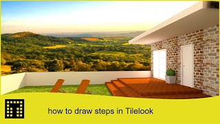 How to draw steps and stairs in Tilelook