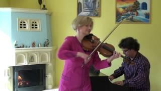 Agnesviolin ADELE  SET FIRE TO THE RAIN  VIOLIN & PIANO