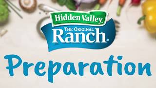 Using and Preparing Hidden Valley Ranch Dry Mix