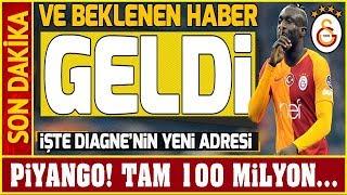 Galatasaray'a 100 Milyonluk Diagne Piyangosu! Yeni Adresi Belli Oldu... Youtube