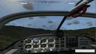 MIRCOSOFT FLIGHT AEROCACHE LOCATION WAILAU VALLEY HD 1080p