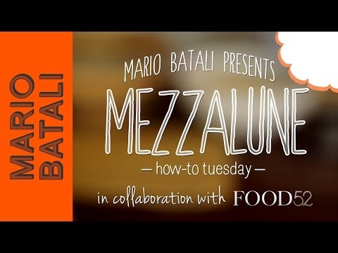 Video: How to MakeMezzalune