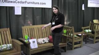 Ottawa Cedar Furniture's Display