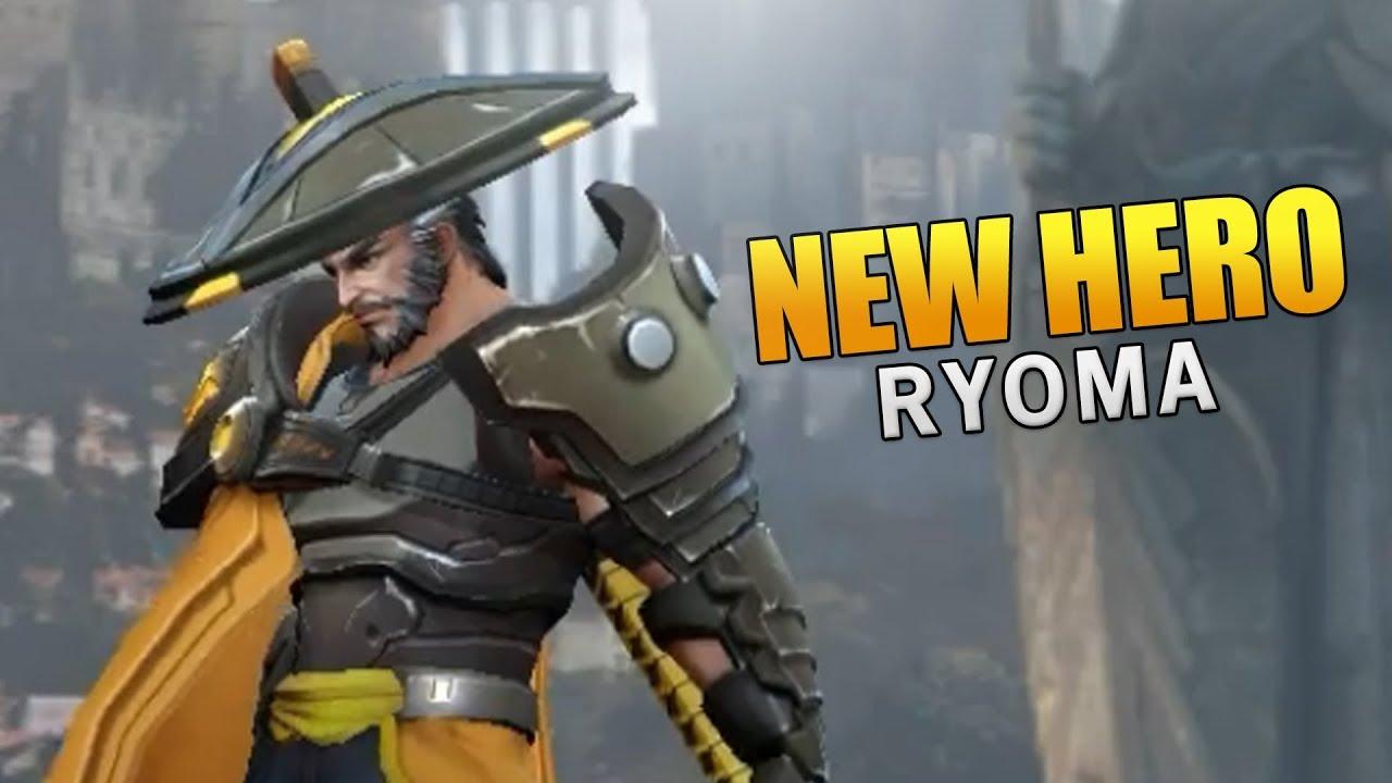 Arena Of Valor New Hero Ryoma Gameplay