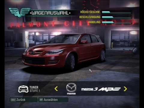 Need For Speed Carbon Car List Youtube