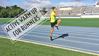 Active Warm Up Routine for Runners