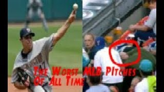 MLB The Wildest Pitches In Baseball History