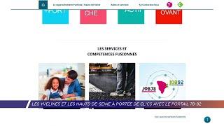Yvelines | Les Yvelines et les Hauts-de-Seine à portée de clics avec le portail 78-92