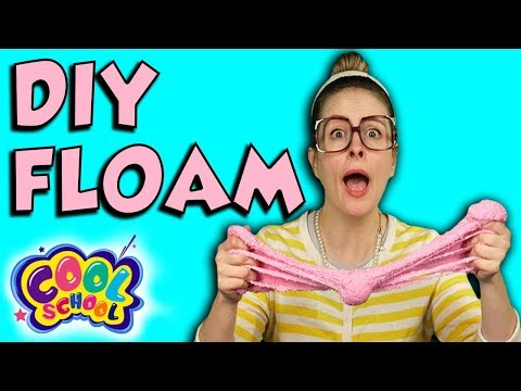 How to Make Floam! | Arts and Crafts with Crafty Carol