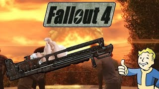 Nuclear Baby Launcher | Fun With Fallout 4 Mods (Atom Bomb Baby)
