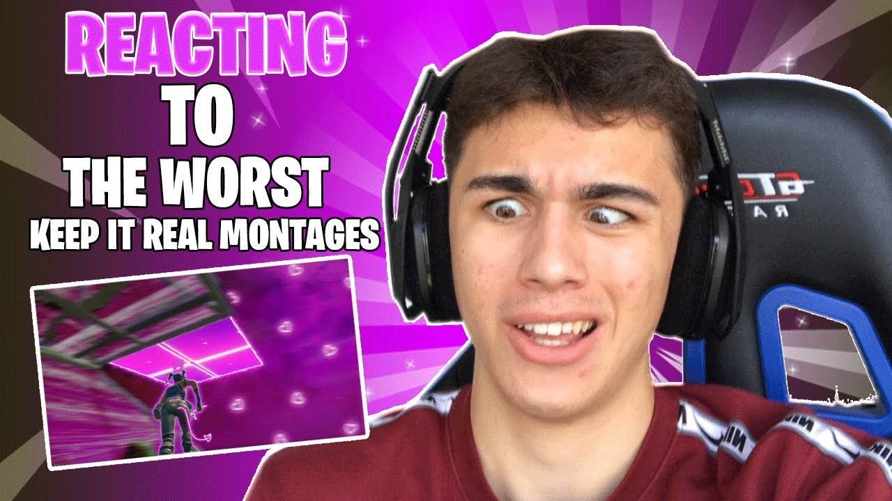 Download REACTING TO THE *WORST* 'Keep It Real💯' MONTAGES...