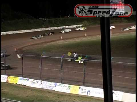 Oshkosh Speedzone Raceway - August 30, 2013 - Grand National Feature