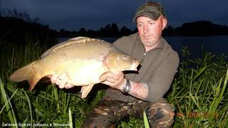 Рыбалка на красивом озере