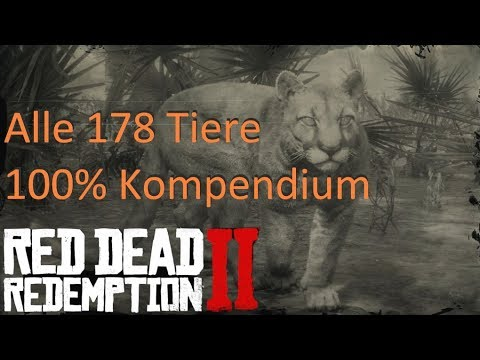 Rdr2 Tiere