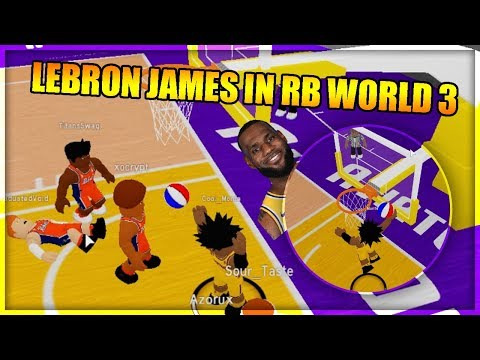 LEBRON JAMES IN RB WORLD 3 CHALLENGE - Month Of Monte