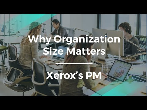 How Organization Size Influences Product Management explained by Xero's PM