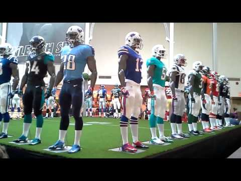 SUPER BOWL 2014 Football Uniforms mannequin