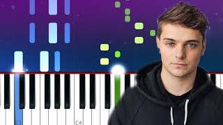Martin Garrix - Summer Days (Piano Tutorial)  ft  Macklemore, Patrick Stump Fall Out Boy