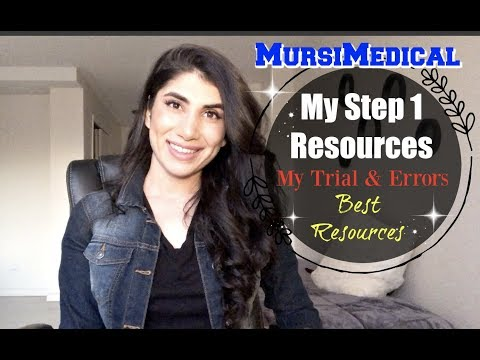 USMLE Step 1-  Resources