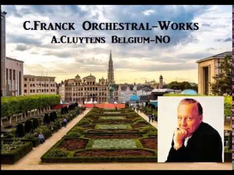 C.Franck Orchestral-Works [ A.Cluytens Belgium-NO ] (1962)